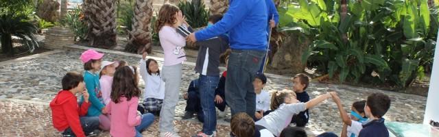 Taller de los sentidos - granja escuela Málaga
