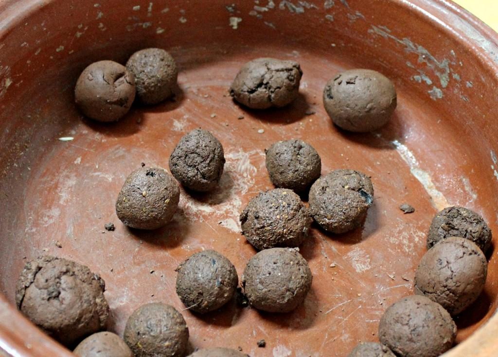 nendo dango bombas de semillas granja escuela malaga
